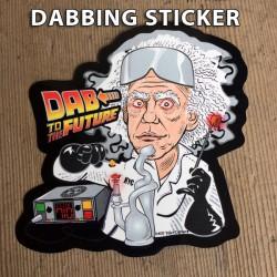 Dab to the Future Sticker