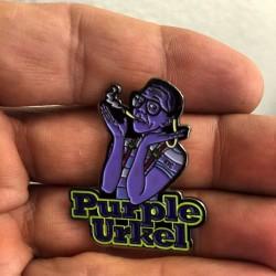 Purple Urkle Hatpin