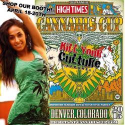 Kill Your Culture Apparel Cannabis Cup Denver
