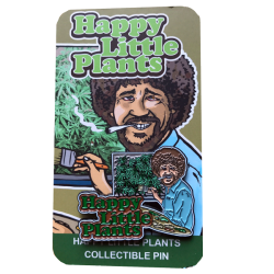 Happy Little Plants Hat Pin